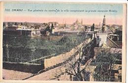 23979 SYRIE DAMAS  VUE GENERALE COMPRENANT LA GRANDE MOSQUEE AMAVY -ferid Librairie- - Syrie