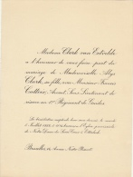 Alice Clark Francis Cattoir Avocat Sous Lieutenant Des Guides - Mariage