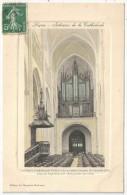 85 - LUÇON - Intérieur De La Cathédrale - La Chaire Et Les Grandes Orgues - Lucon