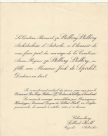 Comtesse Stolberg Stolberg Jack De Spirlet Docteur En Droit - Wedding