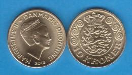 DENMARK / DANMARK / DINAMARCA  10 CORONAS  2.013   SC/UNC  T-DL-11.039 - Danimarca