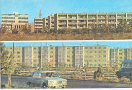 23984 Ouzbékistan BUKHARA- AVENUE OF LENINIST KOMSOMOL, -1975 -voiture