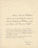 Geoffroy De Halleux Ines Van Eyll - Wedding
