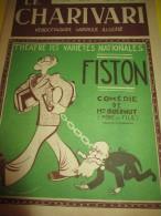 Le Charivari/Hebdomadaire satirique Illustr�/Fiston /n�505/1936   VJ59