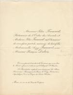 Felix Francart Bâtonnier Francois Dubois - Mariage