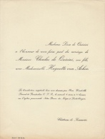 Charles De Quirini Huguette Van Acker Chateau De Keumiée - Wedding