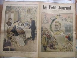 1902 LE PETIT JOURNAL 589 apotheose de Victor Hugo Radica et Doodica naufrage Santos Dumont