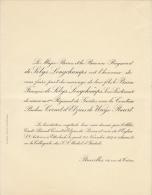 Baron De Selys Longchamps Pauline De Cornet D'elzius De Ways Ruart - Wedding