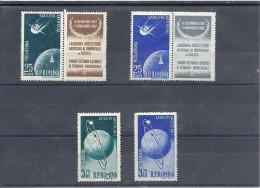 140015359  RUMANIA YVERT  Nº  69/72  **/MNH - Aéreo