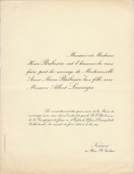 Anne Bribosia Albert Lemaigre - Mariage