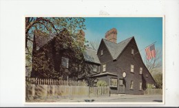 BF26866 Salem Masshouse Of The Seven Gables  USA   Front/back Image - Salem