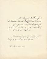 Comte Baudoin De Beaufort Beatrice Falcon - Mariage