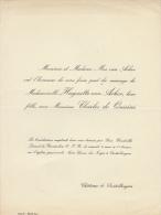 Charles De Quirini Huguette Van Acker Chateau De Destelbergen - Mariage