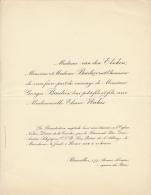 Van Den Elschen Georges Baumier Eliane Wahis - Wedding