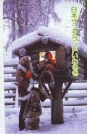 Télécarte  JAPON * NOËL  * MERRY CHRISTMAS * Phonecard JAPAN (1819) TELEFONKARTE  WEIHNACHTEN * KERST NAVIDAD * - Kerstmis