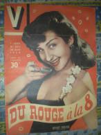 VOILA 30/04/ 1950 HEDDY MILLER JARRETELLES CATCH BERCY MARCHE DU VIN COLOMBA