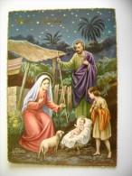 BUON NATALE    NOEL  POSTCARD  CIRCULE' USED CONDITION PHOTO  FORMATO  GRANDE - Noël