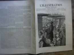 L�ILLUSTRATION 2299 BOOKMAKERS/ REIMS/ SAINT MENEHOULD/ CERCLE ETUDIANTS/ WALKYRIE 19 MARS 1887