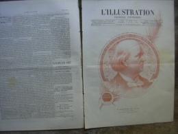 L�ILLUSTRATION 2301 LECONTE DE LISLE/ ALEXANDRE DUMAS/ ISLANDE/ GENERAL FARRE/ CANON DE VIGO 2 avril 1887