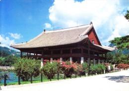 SOUTH KOREA COLOUR PICTURE POST CARD - KYONGBOK PALACE, CHUNCHON - Korea, South