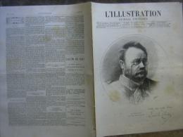 L�ILLUSTRATION 2303 EMILE ZOLA/ PAUL DALLOZ/ HA�TI/ MONTMARTRE/ VENISE/ ALGERIE/ SENEGAL 16 avril 1887
