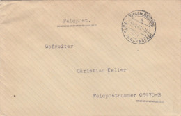 1941 Thalmassing GERMANY Feldpost COVER To Feldpost 03970B  Forces Military - Germany