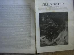 L�ILLUSTRATION 2304 NAUFRAGE DE LA VICTORIA/ PHARE D'AILLY/ FETE AMSTERDAM/ DIAMANTS COURONNE 23 avril 1887