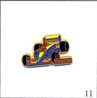 Pin´s - Automobile - Formule 1 / Unisys - Version Ecriture Rouge. Est. Arthus Bertrand Paris. T220-11 - F1