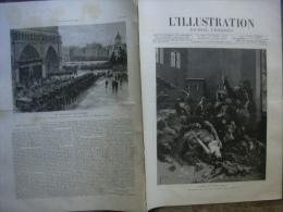 L�ILLUSTRATION 2310 L�INCENDIE DE L�OPERA COMIQUE 04/06/1887