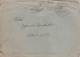 1941 Netzschkau GERMANY Feldpost COVER To Feldpost 37187  Forces Military - Alemania