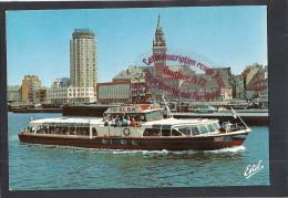K710 -  DUNKERKE. La Visite Du Port, à Bord Du Bateau-promenade L´Elsa - (59 - Nord) - Dunkerque
