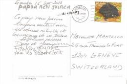Tarjeta Postal De Papua Nueva Guinea 2013 - Papua Nueva Guinea