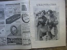 L�ILLUSTRATION 3530 DIRIGEABLE AMERICA/ Portugal/ MONACO/  22 OCTOBRE 1910