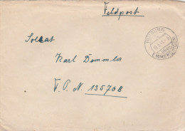 1941 Nimburg GERMANY Feldpost COVER  To Fieldpost 13576B Forces Military - Germany