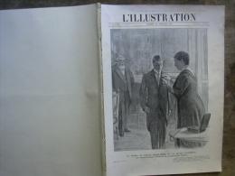 L�ILLUSTRATION 3622 FETES PERSANES/ 5 MATS France/ CLODION/ ALSACIENS/  27 JUILLET 1912