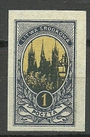 LITAUEN Lietuva Lithuania 1921 Mittellitauen Central Lithuania Michel 34 B MNH - Lituanie