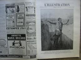 L�ILLUSTRATION 3768 LES GRENADES ET PETARDS/ Italie/ DARDANELLES/  22 MAI 1915