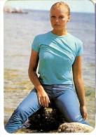 CALENDARIO DEL AÑO 1973 DE UNA CHICA SEXI (NUDE) (CALENDRIER-CALENDAR) - Tamaño Pequeño : 1971-80
