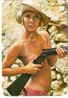 CALENDARIO DEL AÑO 1973 DE UNA CHICA SEXI (NUDE) (CALENDRIER-CALENDAR) - Calendarios