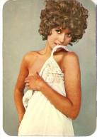 CALENDARIO DEL AÑO 1974 DE UNA CHICA SEXI (NUDE) (CALENDRIER-CALENDAR) TRANSPORTES ALAMO - Tamaño Pequeño : 1971-80