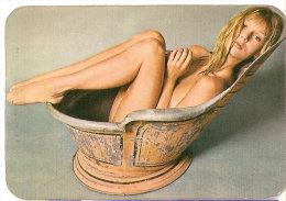 CALENDARIO DEL AÑO 1974 DE UNA CHICA SEXI (NUDE) (CALENDRIER-CALENDAR) TRANSPORTES ALAMO - Calendarios