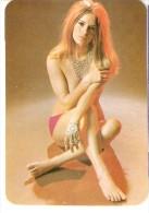 CALENDARIO DEL AÑO 1975 DE UNA CHICA SEXI (NUDE) (CALENDRIER-CALENDAR) - Tamaño Pequeño : 1971-80