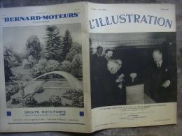 L�ILLUSTRATION 4861 ELECTIONS/ ESPAGNE/ PALESTINE/ PLONGEUR/ ETHIOPIE/ ITALIE / PEINTURES AMERINDIENNES 2 mai 1936