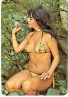 CALENDARIO DEL AÑO 1976 DE UNA CHICA SEXI (NUDE-DESNUDO) (CALENDRIER-CALENDAR) - Tamaño Pequeño : 1971-80