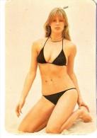 CALENDARIO DEL AÑO 1976 DE UNA CHICA SEXI (NUDE-DESNUDO) (CALENDRIER-CALENDAR) - Calendarios