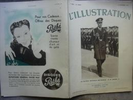 L�ILLUSTRATION 4894 GEORGE VI/ JOUETS/ JEAN DE LA CIERVA / MERMOZ 19 d�cembre 1936