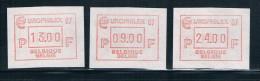 OCB ATM Set 65  Postfris Voor 2.5 Euro - Vignettes D'affranchissement