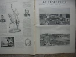L�ILLUSTRATION 2993 CHINE/ EXPOSITION/ CLERMONT FERRAND/ FUNICULAIRE  LOURDES/  7 juillet 1900  Page 1 les �v�nements de