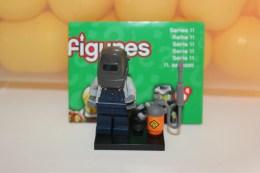 Lego Minifigures = Série  11 = Soudeur - Figurine