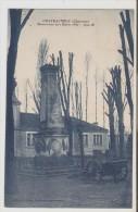 Chateauneuf.  Monument Aux Morts 1870. - Chateauneuf Sur Charente